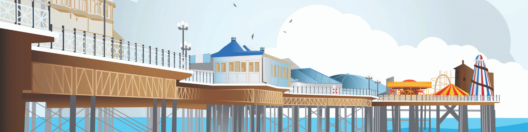 Brighton Pier Art